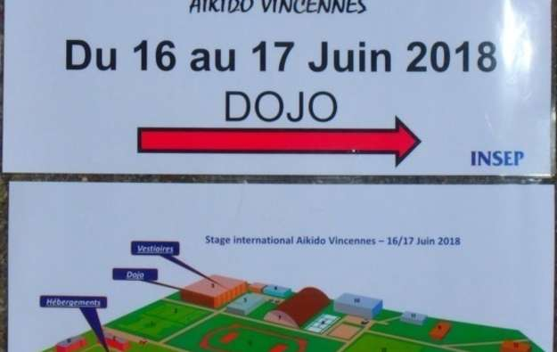 Stage international d'Aïkido traditionnel à l'INSEP les...